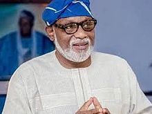You Can't Put Something on Nothing, Akeredolu Says as He Declares his Readiness For APC's Direct Primaries