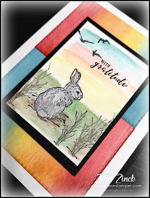 My inspiration from Tina Zinck for today's cards | Nature's INKspirations by Angie McKenzie