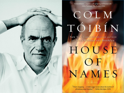 Colm Tóibín, author of House Of Names