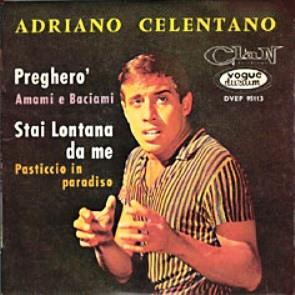 Adriano Celentano - Pregherò - midi karaoke