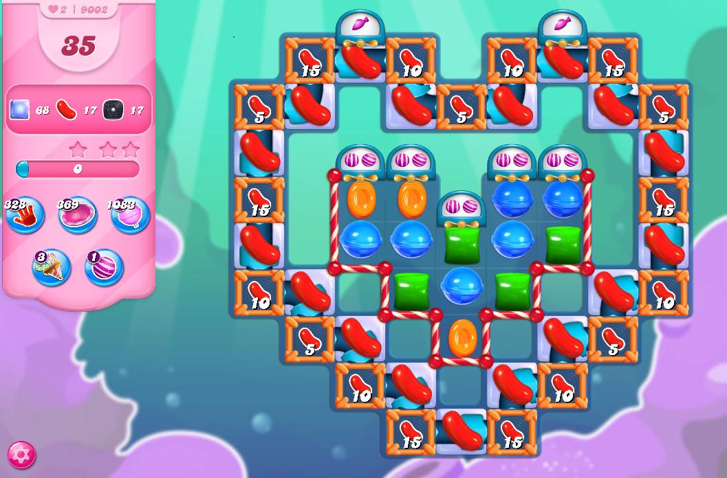 Candy Crush Saga level 9002