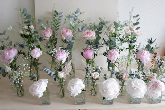 fleuriste mariage Lyon, Centre de table fleuri, décoration mariage,