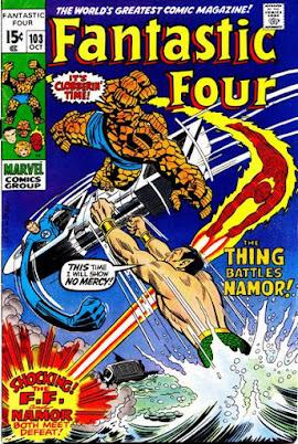 Fantastic Four #103, the Sub-Mariner