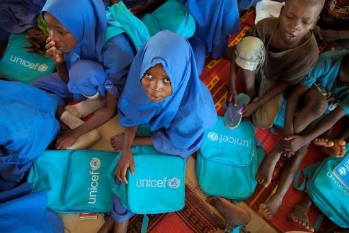 Unos 535 millones de niños viven en situación de crisis