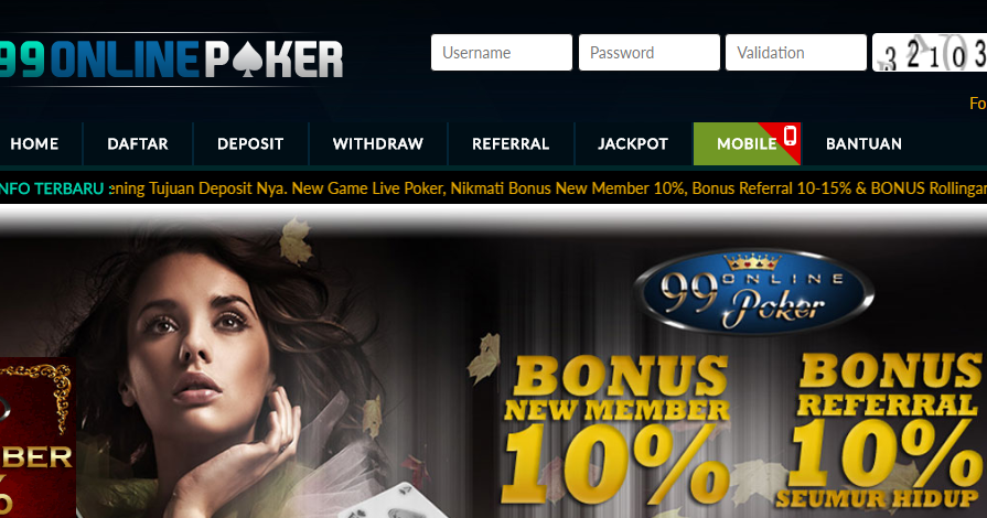 99ONLINEPOKER   agen poker online indonesia & domino qq ...