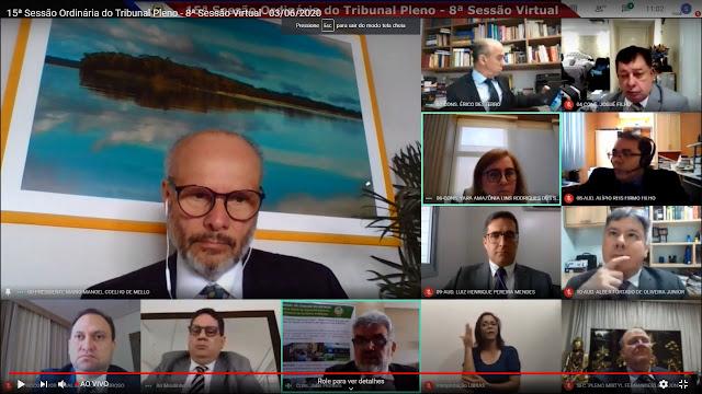 Responsável pelas contas da Maternidade Dona Nazira Daou, em 2018, o ex-diretor-geral José Menezes Ribeiro Júnior, teve as contas reprovadas pelo colegiado do Tribunal de Contas do Amazonas (TCE-AM), durante a 15ª sessão ordinária 2020 (8ª sessão virtual), nesta quarta-feira (3). A sessão por videoconferência, em Plenário Virtual, foi transmitida, ao vivo, pelas redes sociais do TCE-AM (Youtube, Facebook e Instagram).