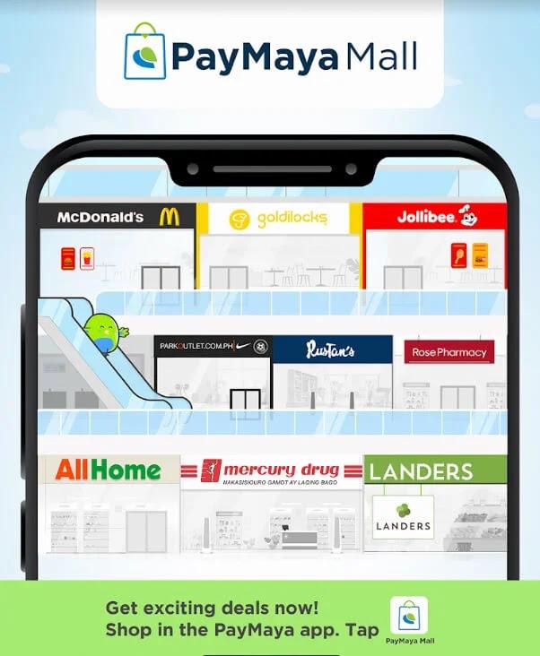 Shop in the PayMaya App with PayMaya Mall