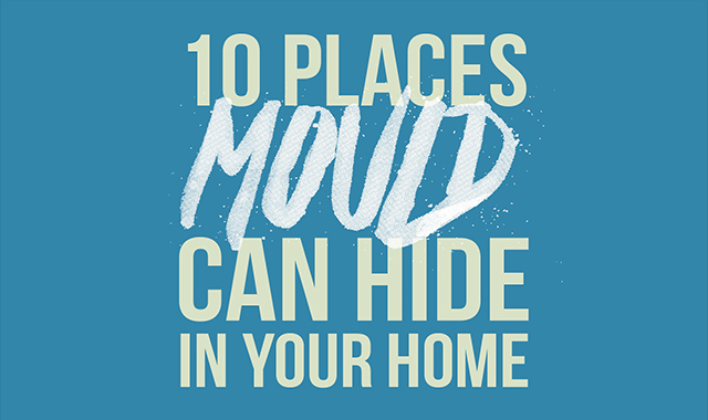 10 Places Mould Can Hide In Your Home