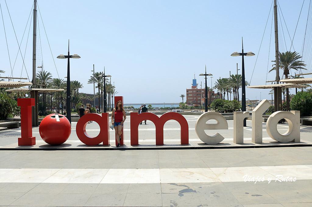 I love Almería