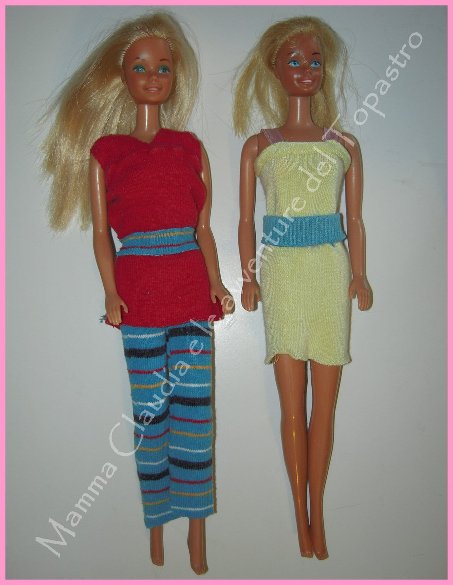 Popolare Mamma Claudia e le avventure del Topastro: Vestiti per Barbie con  LU38