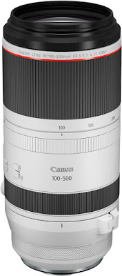 New RF 100-500 mirrorless telephoto lens