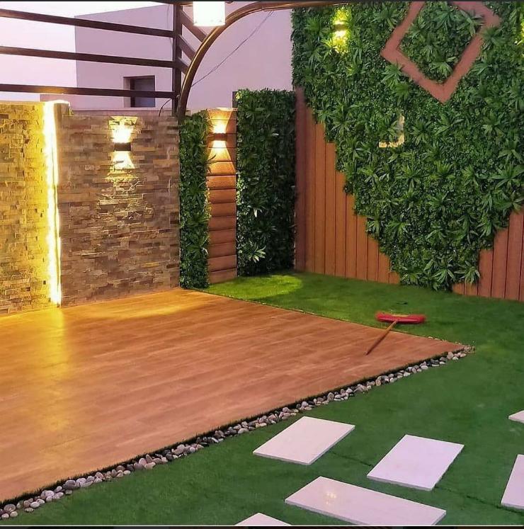 تنسيق حدائق أسطح المنزل بجده تنسيق حدائق الأستراحات في جدة