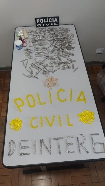 POLICIA CIVIL REALIZA OPERAÇÃO NOS PRÉDINHOS DO CDHU DE CAJATI