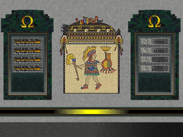 Screenshot of Montezuma from Sid Meier's Civilization II