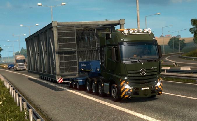Euro Truck Simulator 2 terá novo pacote de cargas especiais