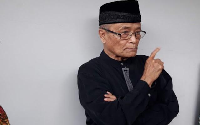 Buya Syafi'i Ingatkan Pemerintah: Tidak Perlu Main Buzzer, Bisa Menambah Panas Situasi