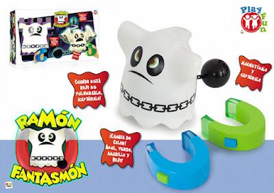 TOYS : JUGUETES - Ramón Fantasmón Juego Electrónico | Play Fun Producto Oficial 2016 | IMC Toys 10338 Comprar en Amazon España