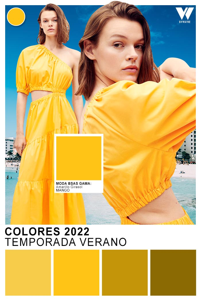 moda colores veranpo 2022 tendencias