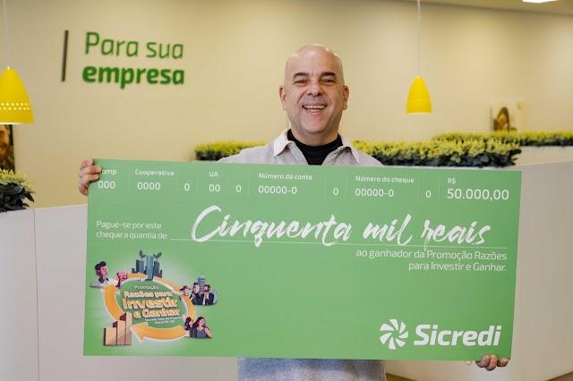 Sicredi Vale do Piquiri Abcd PR/SP entrega mais de R$ 1 milhão em prêmios