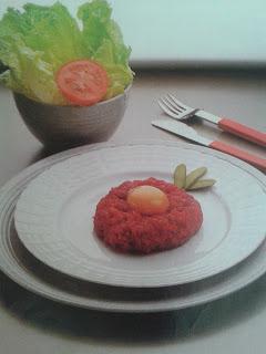 Bistec a la tártara