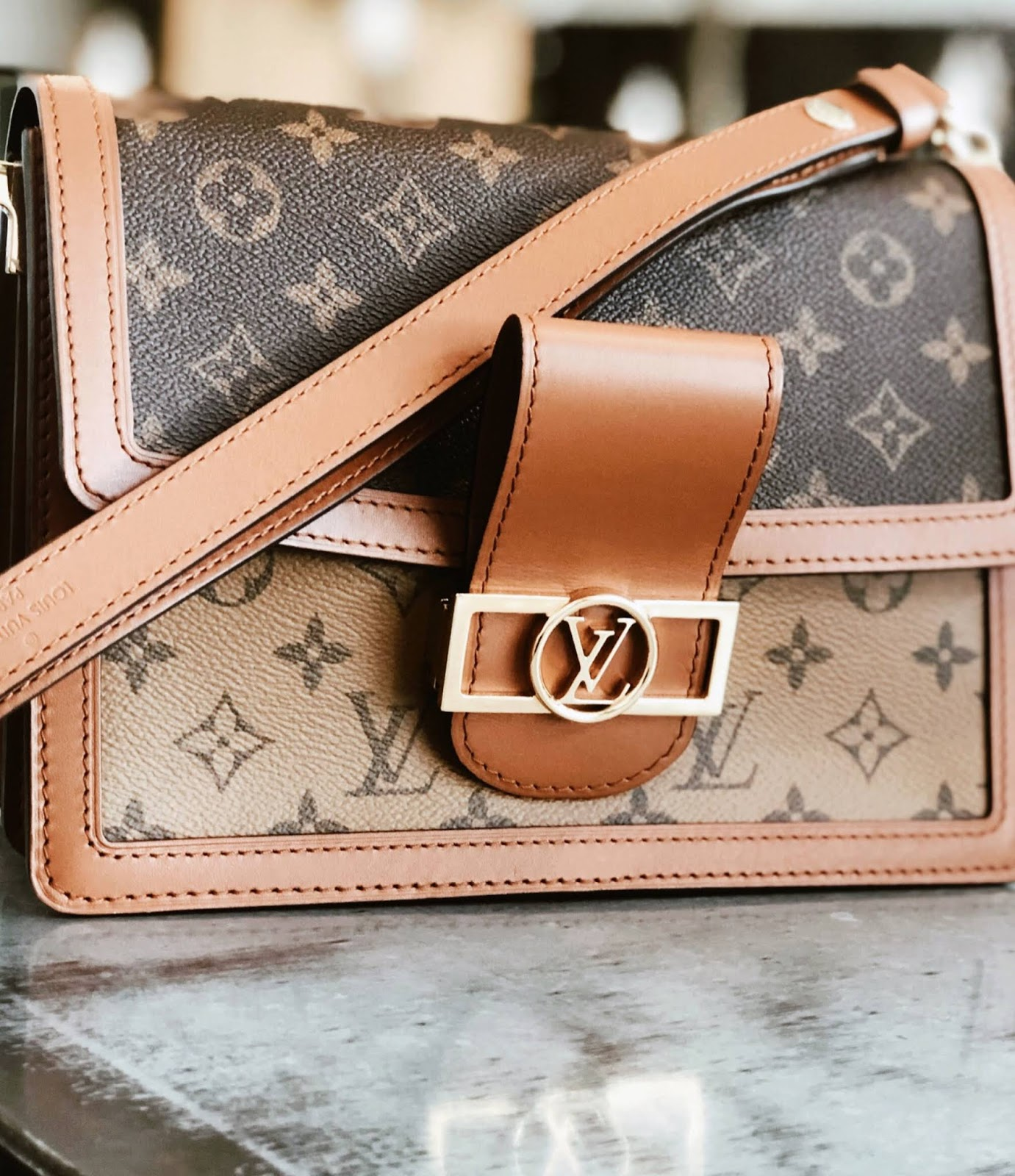 Louis Vuitton Dauphine MM Bag : Luxury Reveal https://www.ourdubailife.com
