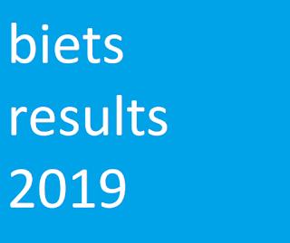 biets results 2019