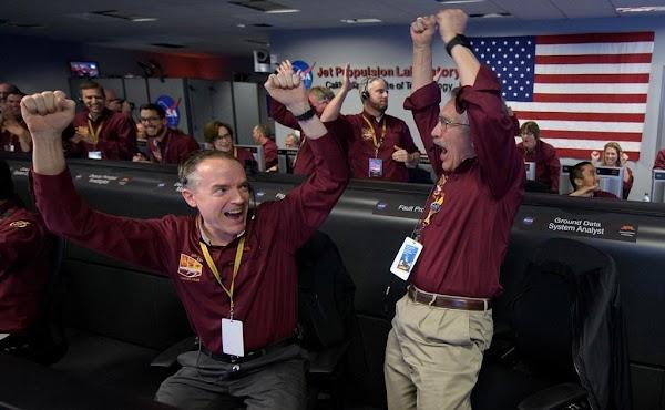 FOTOS: InSight ya aterrizó y manda su primeraS fotos desde Marte.