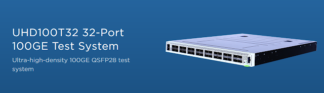 UHD100T32 32-Port 100GE Test System