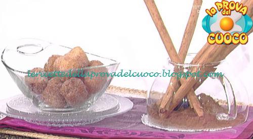 Ricetta delle Frittelle di banana e cioccolato da La Prova del Cuoco