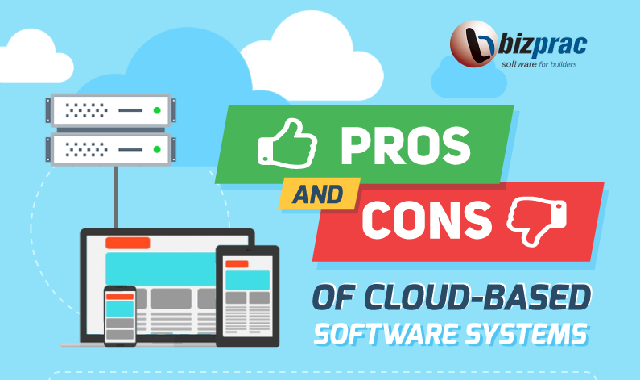 The Pros and Cons of Cloud-based Software Systems #infographic