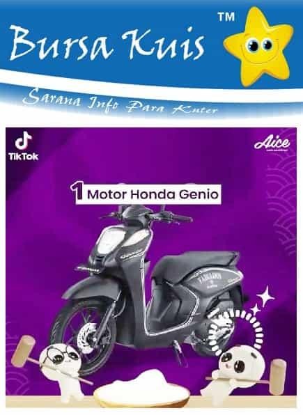 Kuis Online Terbaru Berhadiah Motor Honda