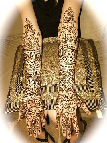 wedding mehndi designs for hands and feet celebrity