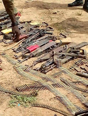 boko haram underground weapon storage