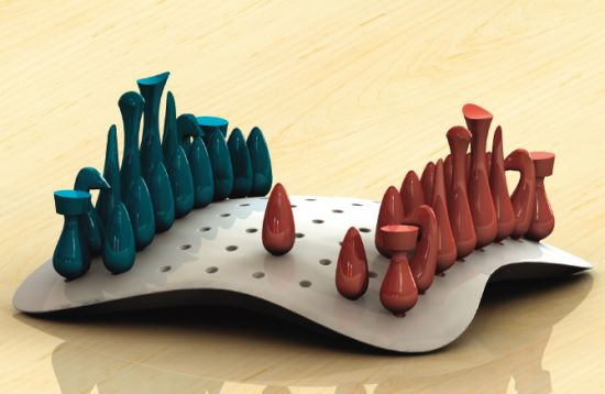 Chess Design Cake