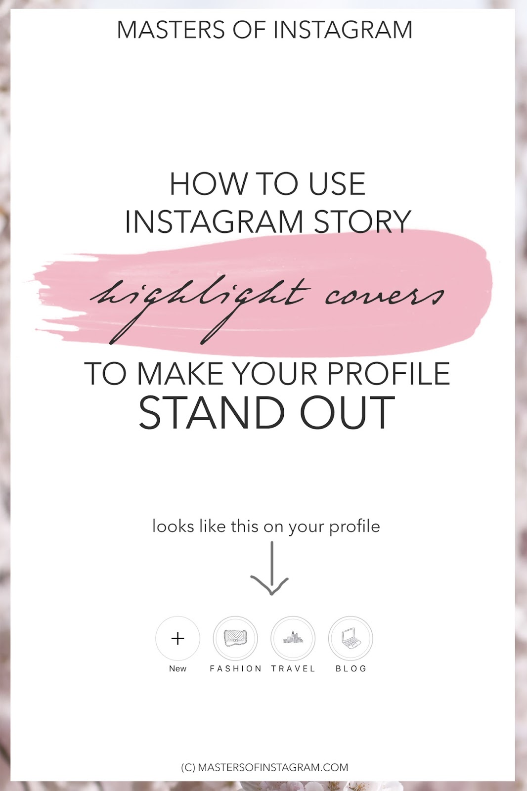 How to use Instagram Highlight Covers to make your profile stand out, Instagram Highlights, Instagram Stories, Instagram Story Covers