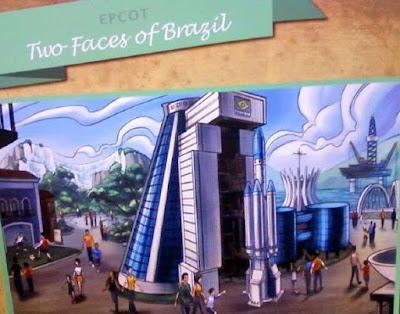 Projeto de Pavilhão do Brasil no Epcot