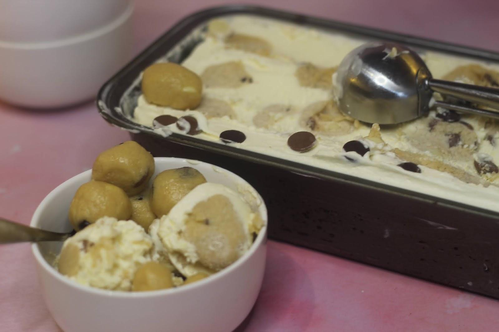No churn Cookie Dough Ice Cream
