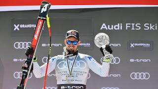 ESQUÍ ALPINO - El italiano Dominik Paris se desquita y consigue su primer Globo de Cristal, en el SuperGigante