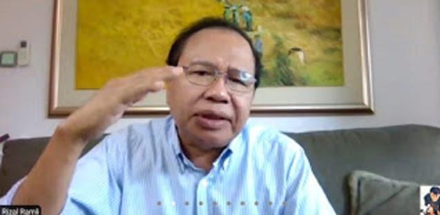Bicara Reshuffle, Rizal Ramli: Sumber Masalahnya Menkeu, Kalau Tidak Diganti Jokowi Akan Nyungsep