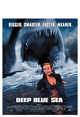Deep Blue Sea (1999) BRRip 1080p Latino AC3 2.0 / Español Castellano AC3 5.1 / ingles AC3 5.1 BDRip m1080p