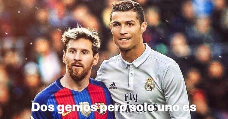 #PensarDiferente Soy lo que soy porque tu eres lo que eres #Messi #Cristiano
