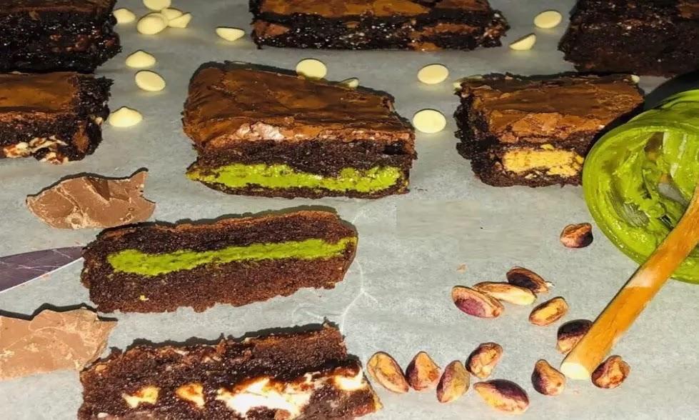Pistachio Brownies Recipe