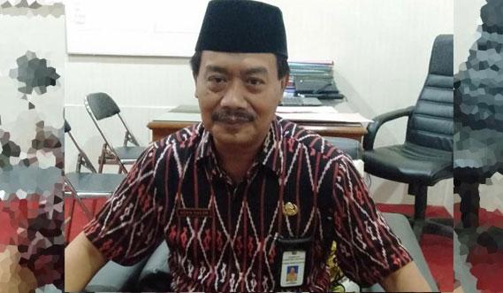 Pelaksana Tugas Kepala Dinas Pendidikan Lumajang Agus Salim
