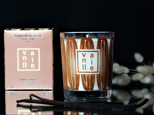 carrément belle bougie parfumée vanille, carrément belle bougies, carrément belle parfums avis, parfum vanille carrément belle, parfum d'ambiance à la vanille, bougie parfumée gourmande, bougie carrément belle avis, bougie vanille