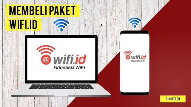 Cara Membeli Paket Internet WiFi.id Telkom Indonesia