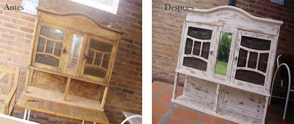 Paso a paso para lograr un efecto vintage en los muebles for Muebles vintage uruguay