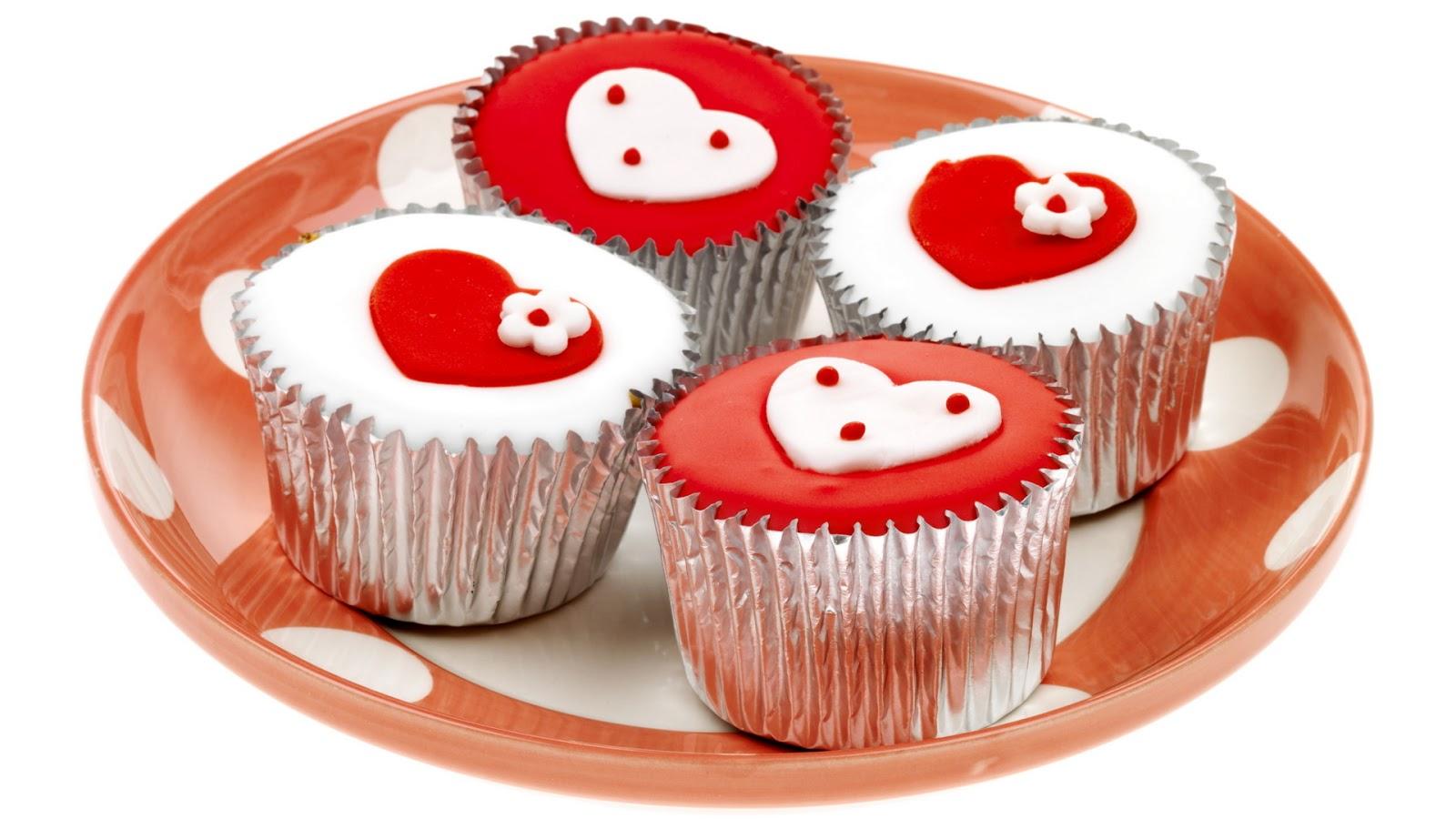 Fondos De Pantalla Gratis San Valentin 16: Fondo De Pantalla Dia De San Valentin Pasteles Corazones