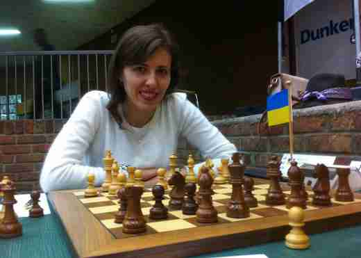 Tatiana Kostiuk sur la liste de Philippe Dornbusch pour l'élection FFE 2016 - Photo © Chess & Strategy