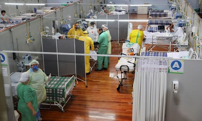 Brasil registra 1.071 mortes por covid-19 nas últimas 24 horas