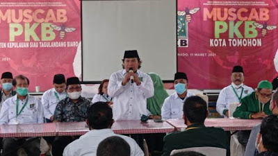 Muscab PKB di Sulut Titik Awal Menghantar Gus AMI Presiden RI 2024